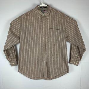 Vintage Tommy Hilfiger Plaid Button Down Size Larg